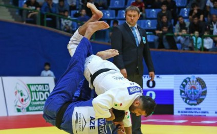 Azerbaijani judo fighters bring home two medals from Tashkent