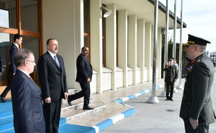 President Ilham Aliyev ended his working visit to Turkey