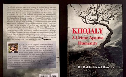 Book on Khojaly genocide published in California