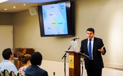 The Biola University of Los Angeles hosts event on Azerbaijan