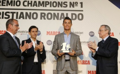Ronaldo wins UCL best player award