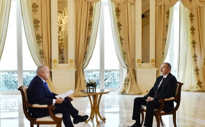 President Ilham Aliyev responded to questions from Sputnik International News Agency