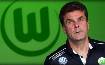 Wolfsburg parts company with coach Dieter Hecking