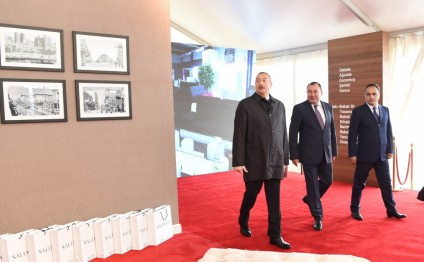 "President Ilham Aliyev opened ""Modern"" furniture factory in Aghstafa"