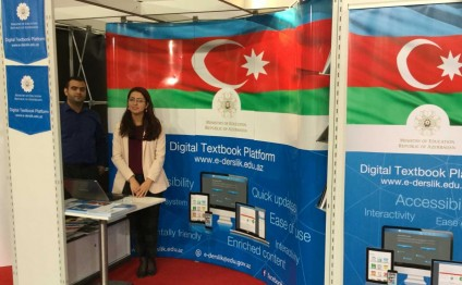 Frankfurt Book Fair displays Azerbaijani e-textbooks