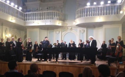 Azerbaijani People`s Artist performs in Moscow