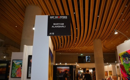 Exhibition of Azerbaijani artist Maryam Alakbarli at Carrusel de Louvre gallery turns tradition