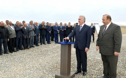 Closed irrigation system launched in Kangarli, Nakhchivan