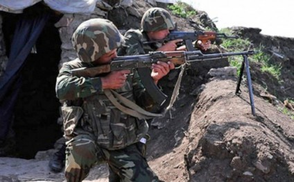 Armenian armed units violated ceasefire with Azerbaijan 18 times throughout the day