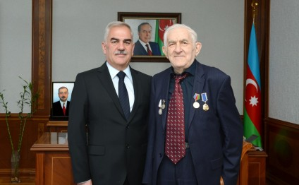 Chairman of Nakhchivan Supreme Assembly meets with acclaimed composer Tofig Bakikhanov