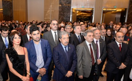 Turkish national holiday celebrated in Baku