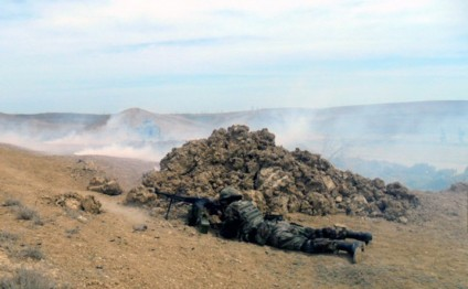 Armenian armed units violated ceasefire with Azerbaijan 45 times throughout the day