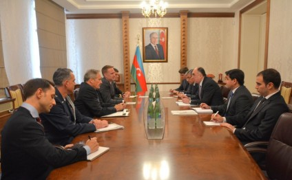 Azerbaijani FM meets US Deputy Assistant Secretary of Defense