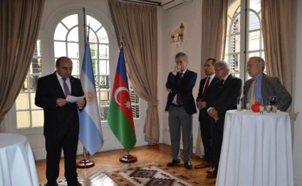 25th anniversary of restoration of Azerbaijan`s independence marked in Argentina