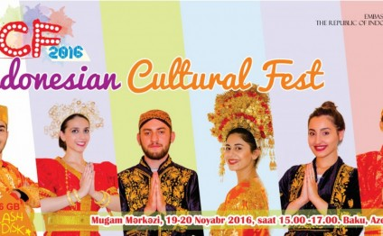 Indonesia to hold First Cultural Festival in Baku