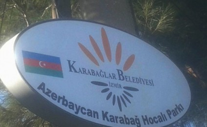 Khojaly Park opens in Izmir