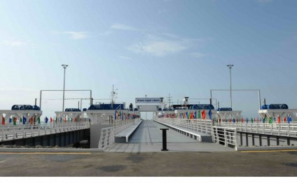"Forbes: ""An inside look at the new crossroads of Eurasia: Azerbaijan's new port of Baku"""