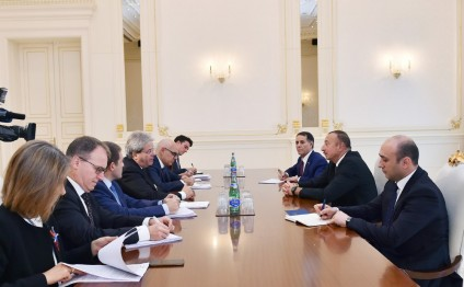 President Ilham Aliyev received delegation led by Italian Minister