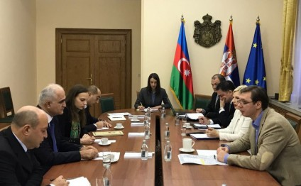 Prime Minister Aleksandar Vucic: Serbia was interested in boosting relations with Azerbaijan