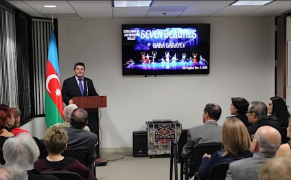 """Seven Beauties"" ballet of Azerbaijan screened in Los Angeles"