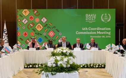Fourth meeting of Coordination Commission of Islamic Solidarity Games kicks off in Baku