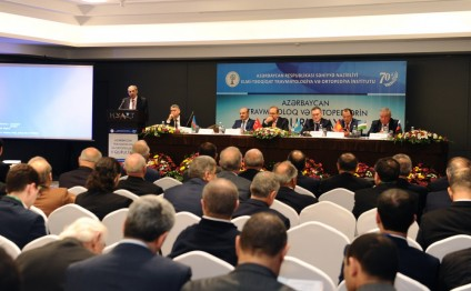 2nd Congress of Azerbaijani Traumatologists and Orthopedics kicks off in Baku