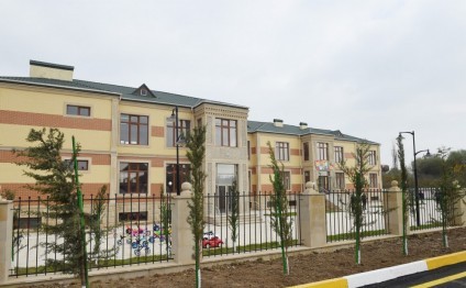 President Ilham Aliyev attended opening of orphanage-kindergarten in Beylagan
