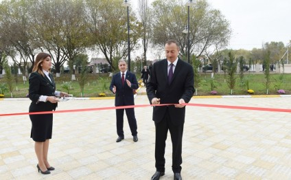 President Ilham Aliyev inaugurated 240-seat school in Beylagan