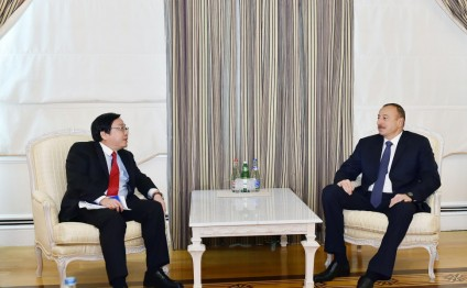 President Ilham Aliyev received Vice-President of Asian Development Bank