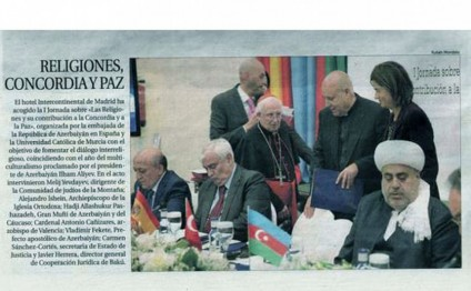 Spanish paper highlights conference co-organized by Azerbaijan`s Embassy