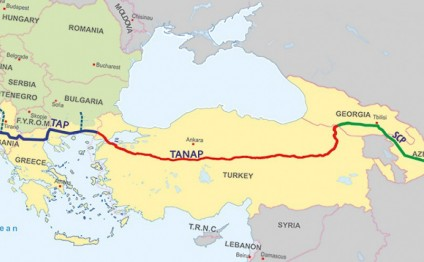President Ilham Aliyev approves MoU on TANAP