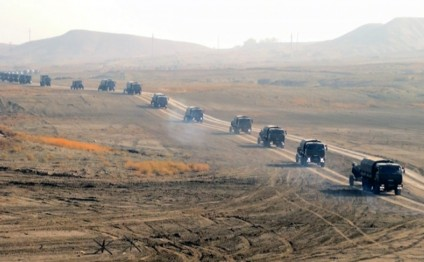 Armed Forces continue large-scale exercises in Nakhchivan