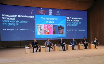 First session of Baku Congress discusses the future of news consumption