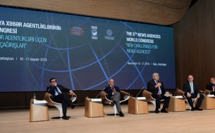 Protecting journalists' mission discussed at 5th session of Baku Congress