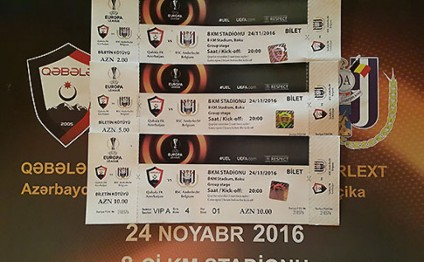 FC Qabala v Anderlecht match tickets go on sale