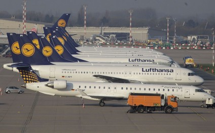 Lufthansa cancels 876 flights due to pilots' strike