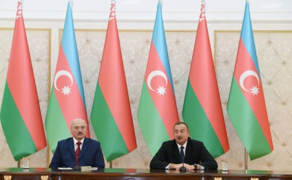 Presidents of Azerbaijan and Belarus made press statements