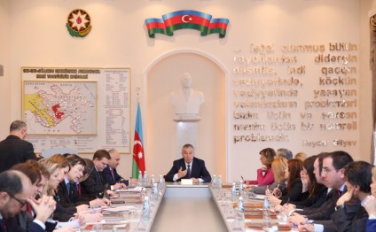 Azerbaijani Deputy PM meets with delegation of Council of EU Working Party