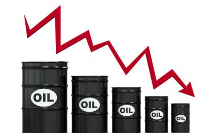 Oil price falls on world markets