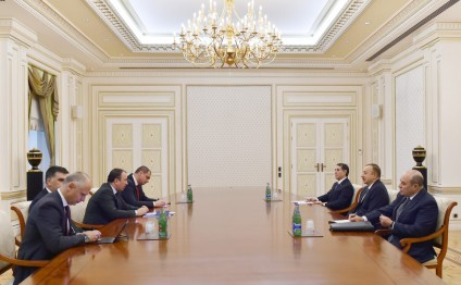 President Ilham Aliyev received delegation led by Bosnia and Herzegovina's Foreign Minister