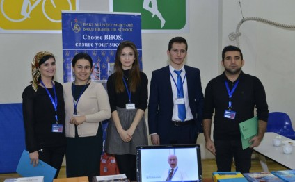Baku Higher Oil School presented at Knowledge Fair