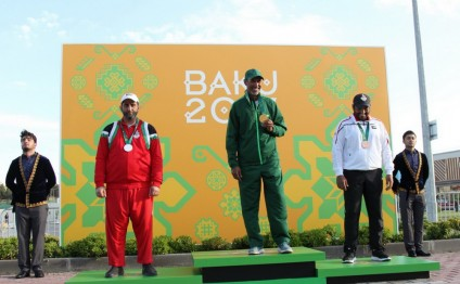 Saudi Almutairi takes men's skeet gold