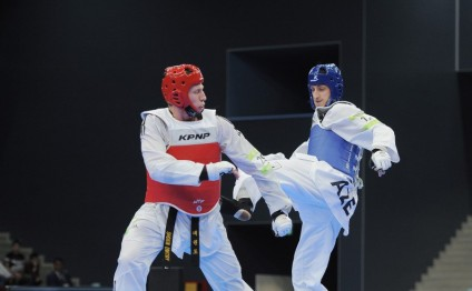 Radik Isayev earns Azerbaijan`s fifth taekwondo gold at Islamic Solidarity Games
