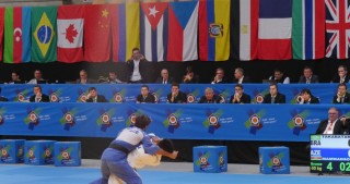 Azerbaijani fighter claims bronze at European Judo Open