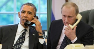 Putin, Obama discuss on the phone Syrian settlement, situation in Ukraine