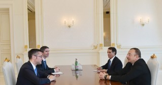 President Ilham Aliyev received OSCE Parliamentary Assembly's Special Representative on South Caucasus