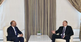 President Ilham Aliyev received Afghan National Security Advisor