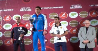 Junior Azerbaijani freestyle wrestlers rank 2nd in overall medal table of European Championship