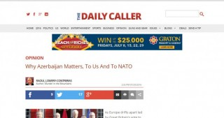 The Daily Caller: Why Azerbaijan Matters, to Us and to NATO