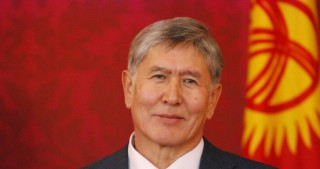 Kyrgyzstan's president arrives in Moscow for treatment